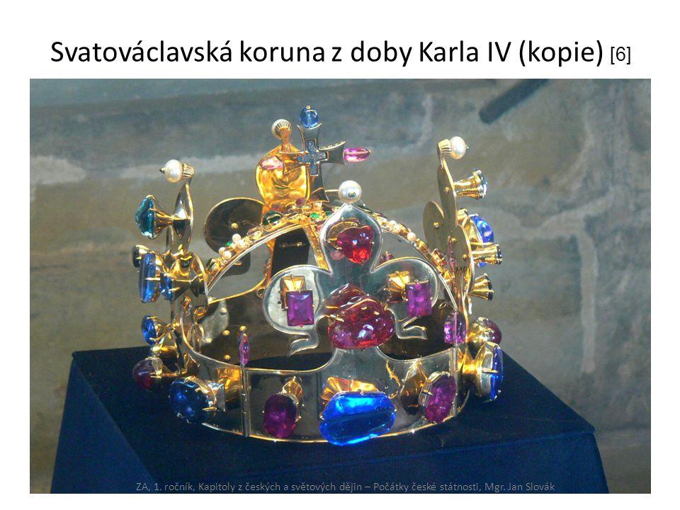 Svatováclavská koruna z doby Karla IV (kopie) [6]